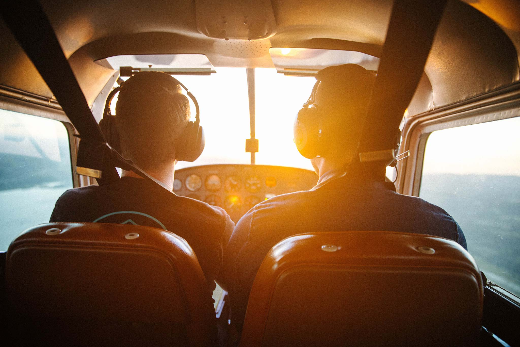 Student Pilot and Instructor